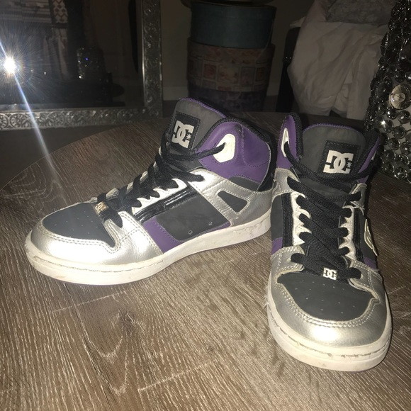 DC Shoes | Dc Purple And Black High